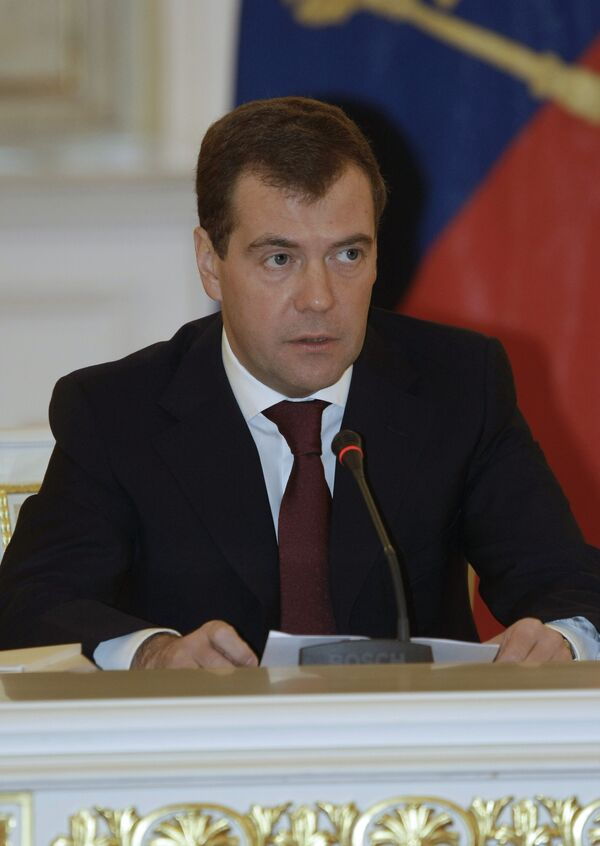 Медведев: основные задачи, поставленные перед правительством, выполнены