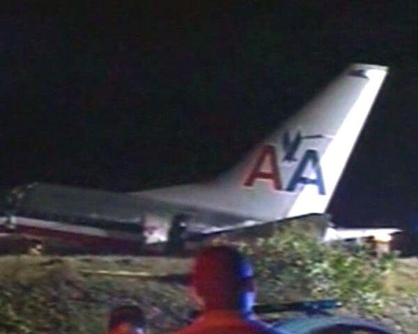 Boeing 737 разбился на Ямайке. Видео с места событий