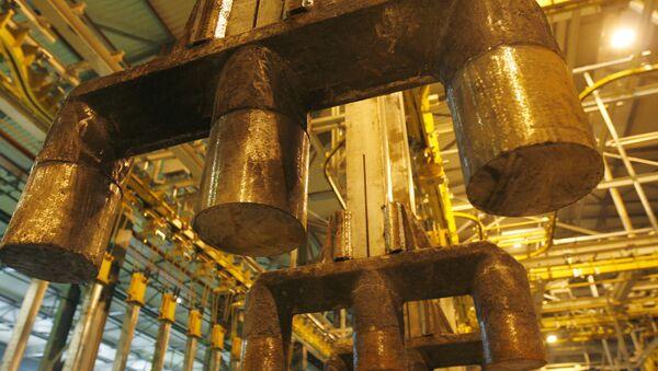 Алюминиевый завод. Архивное фото