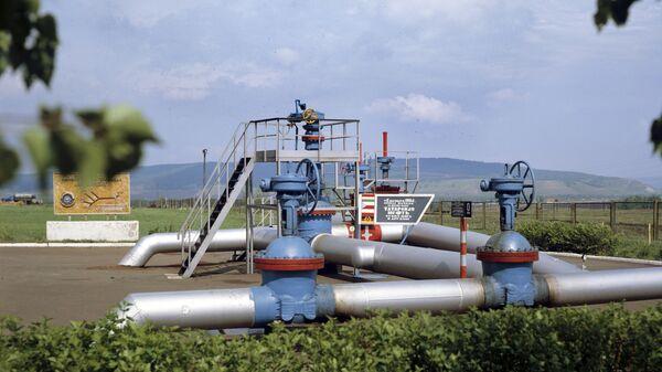 Нулевая отметка нефтепровода Дружба