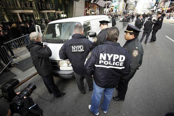 Подозрительный автомобиль обнаружен на Таймс-Сквер в Нью-Йорке