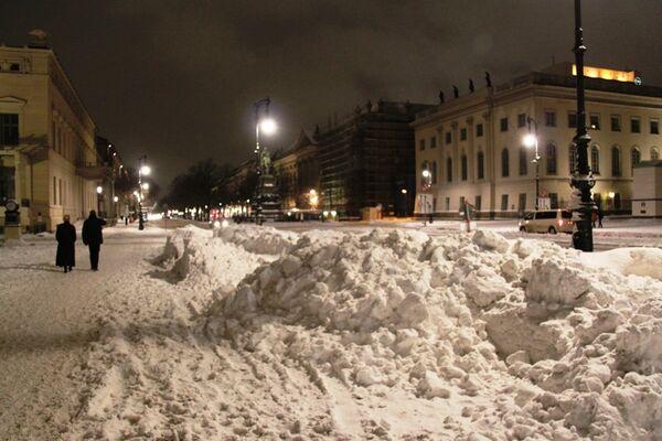 Снегопады в Германии в понедельник продолжатся