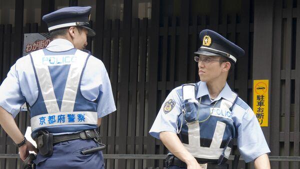 Японская полиция, архивное фото