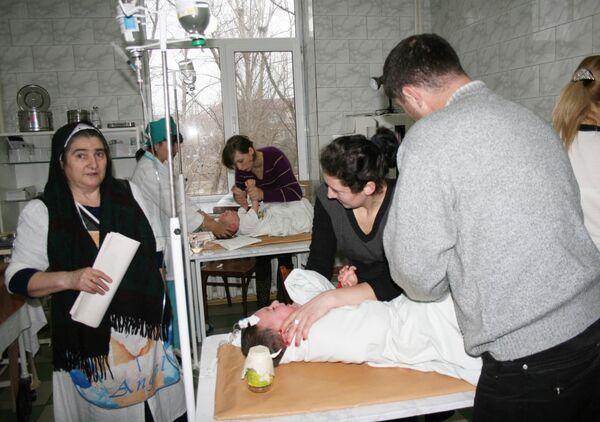 44 ребенка госпитализированы в Дагестане с подозрением на отравление