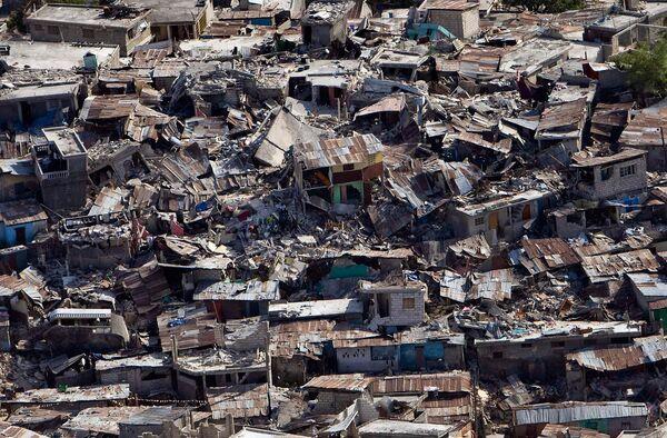 Гаити после землетрясения может угрожать эпидемия кишечных инфекций
