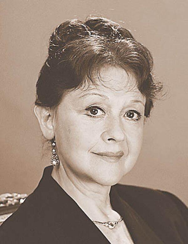 Актриса Людмила Леонидовна Пирогова