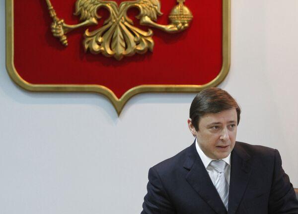 Полпред президента РФ в Северо-Кавказском федеральном округе и вице-премьер Александр Хлопонин