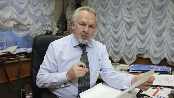 Главный редактор газеты Московский комсомолец Павел Гусев, архивное фото