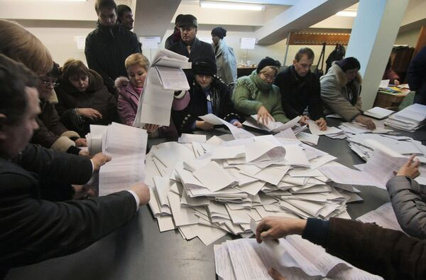 Президентские выборы на Украине. Архив