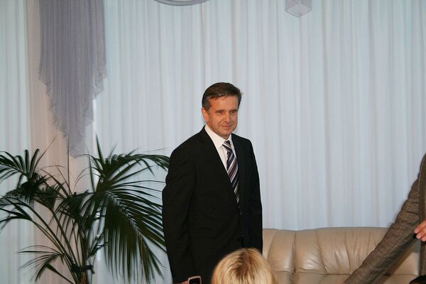 Михаил Зурабов прибыл в Киев