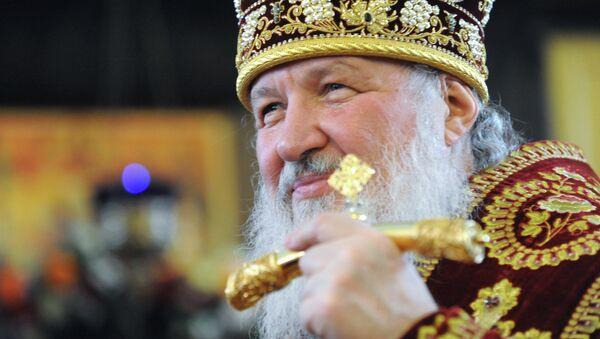 Патриарх Кирилл. Архив