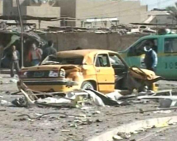 Смертник подорвался в центре Багдада: 17 погибших. Видео с места взрыва
