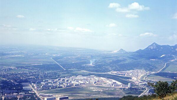 Панорама Пятигорска. Архивное фото