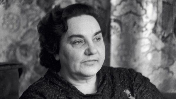 Герой Советского Союза Валентина Гризодубова. Архивное фото