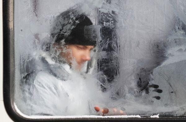 Мороз в Ставрополе