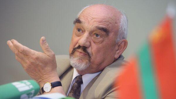 Президент непризнанной Приднестровской Молдавской республики И.Смирнов