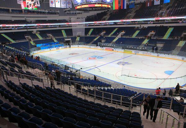 Здание нового спортивного комплекса Минск-Арена
