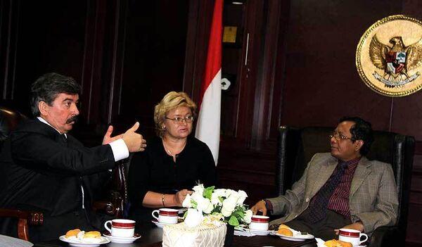 Встреча Сергея Шахрая с главой Конституционного суда Индонезии