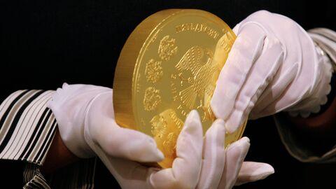 Выпущена серия памятных монет из золота и серебра к юбилею ЦБ РФ