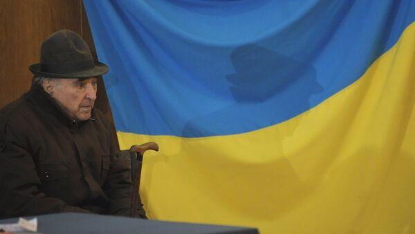 Житель Киева. Архивное фото
