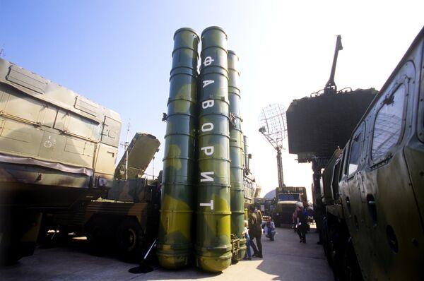 Зенитно-ракетный комплекс дальнего действия С-300 ПМУ Фаворит. Архив