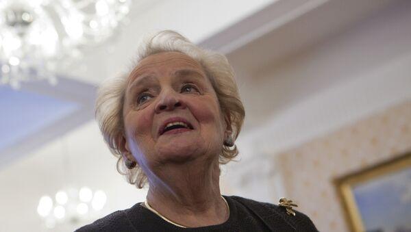 Бывший госсекретарь США Мадлен Олбрайт. Архивное фото