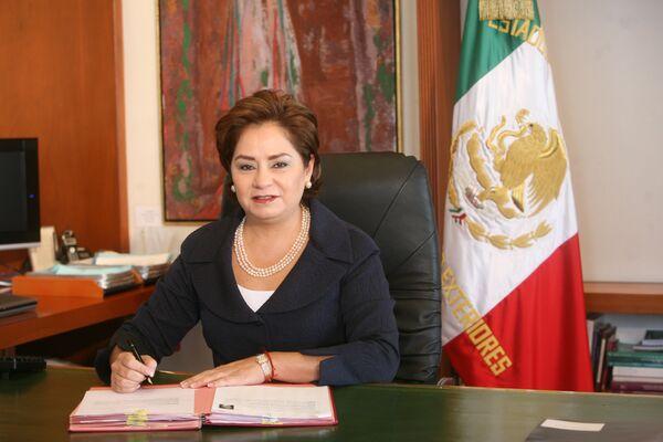 Министр иностранных дел Мексики Патрисия Эспиноса