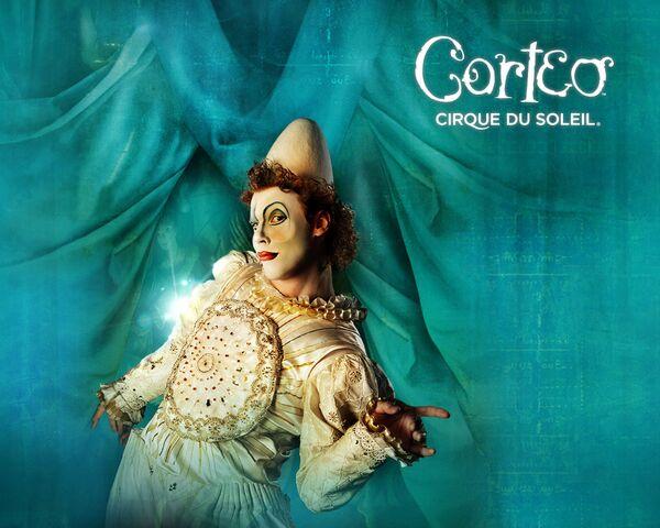 Cirque du Soleil вернется в Россию в 2010 году с шоу Corteo