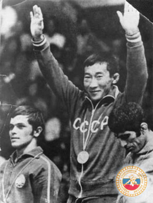 Олимпийский чемпион Роман Дмитриев