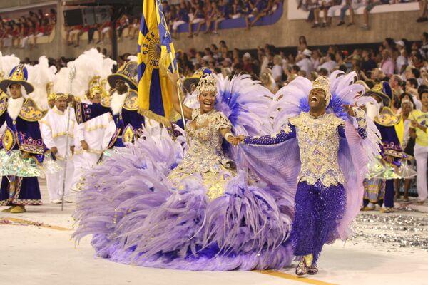 Карнавал в Рио-де-Жанейро. Архив