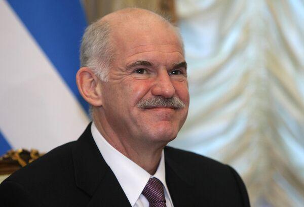 Премьер-министр Греции Георгиос Папандреу. Архив.