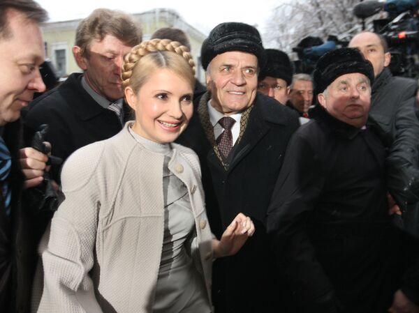 Юлия Тимошенко подала иск в ВАСУ