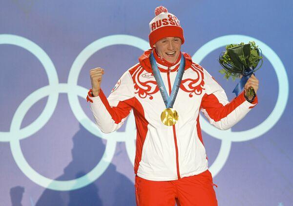 Олимпиада - 2010. Лыжный спорт. Мужчины. Церемония награждения по итогам пятого дня