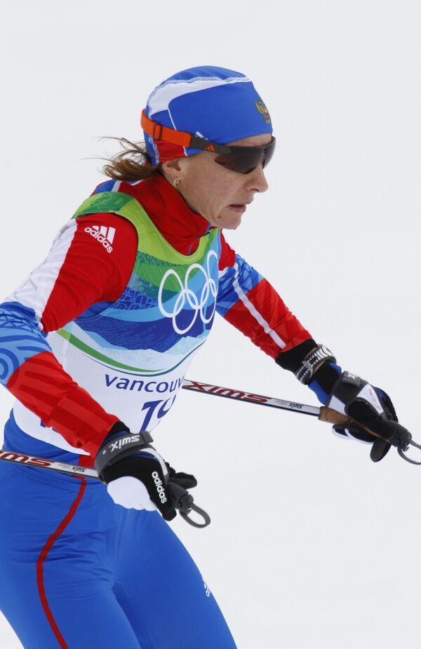 Олимпиада-2010. Лыжный спорт. Женщины. 10 км. Свободный стиль. Финал