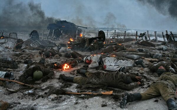 Кадр из фильма Никиты Михалкова Утомленные солнцем-2