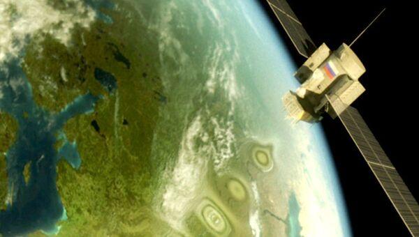 Российская спутниковая система ГЛОНАСС в действии. Архив