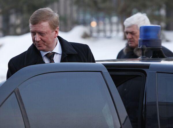 Чубайс дал показания в суде по делу о покушении