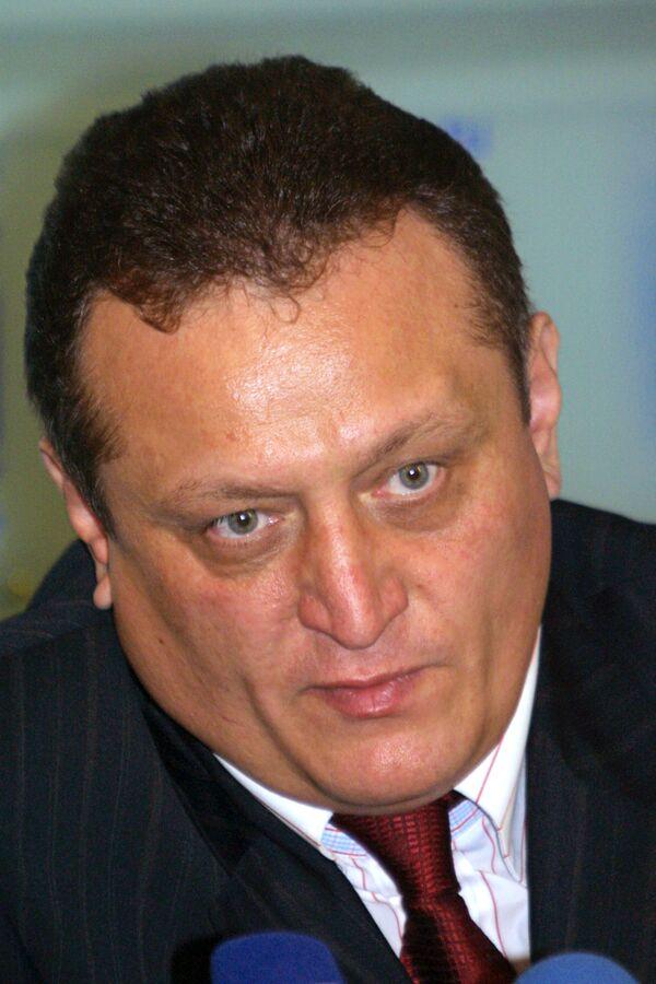 Ген.директор ЗАО Транс Нафта Владимир Кондрачук. Архив