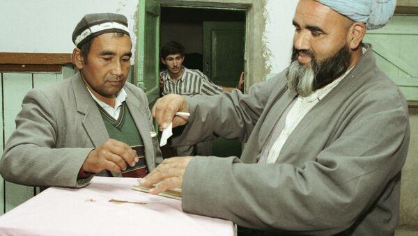 Выборы в Таджикистане. Архивное фото