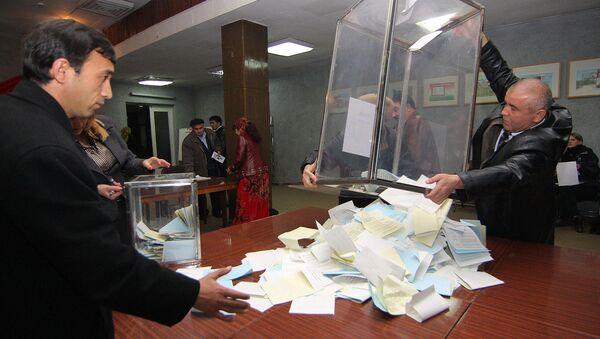 Выборы в Таджикистане