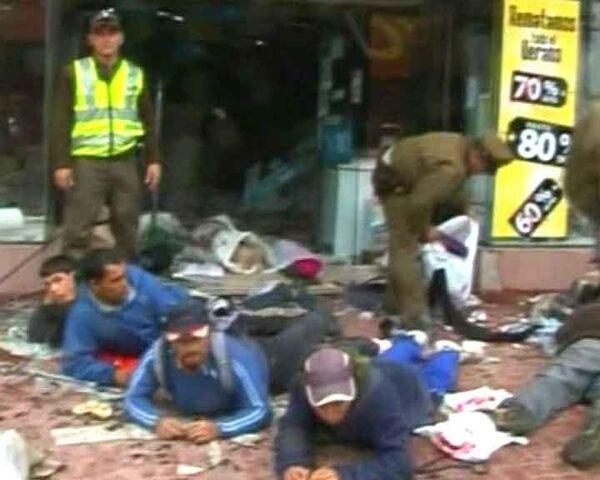 Последствия землетрясения в Чили: мародеры орудуют в разрушенных городах