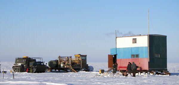 Экспедиция по изучению метана и углекислого газа в Северном Ледовитом океане