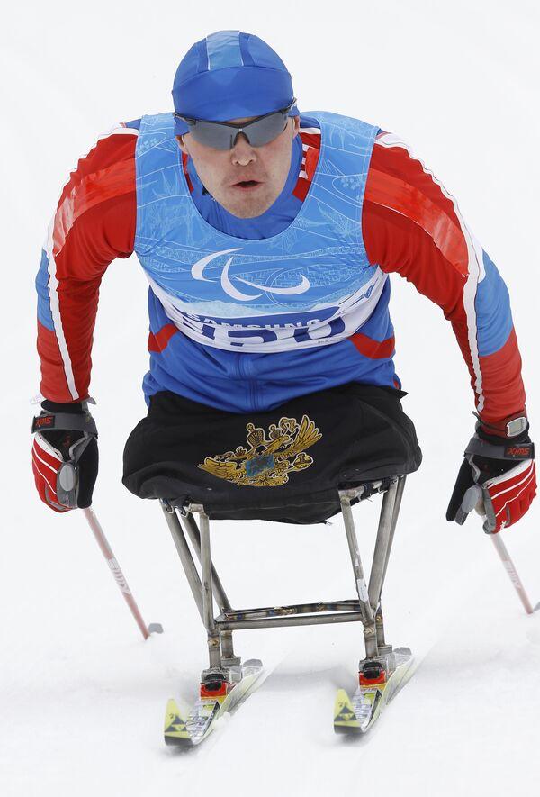 Тренировки паралимпийских сборных по биатлону и лыжным гонкам