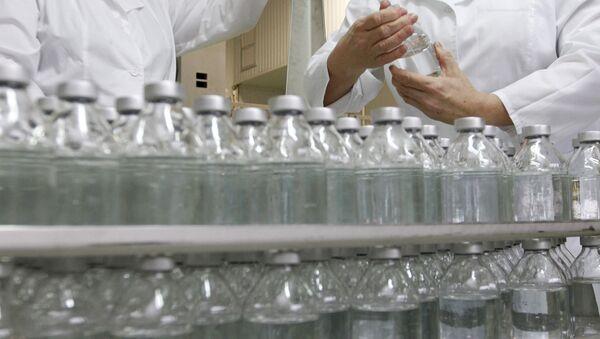 Произвоство растворов для инъекций на Научно-производственном концерне ЭСКОМ