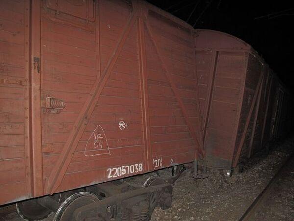 Подрыв железной дороги в Махачкале. Архив