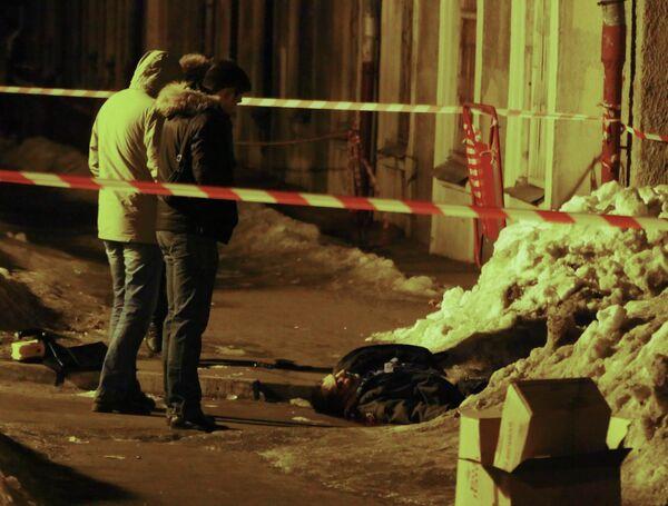 Один милиционер погиб, один был ранен при проверке документов у неизвестных на западе Москвы