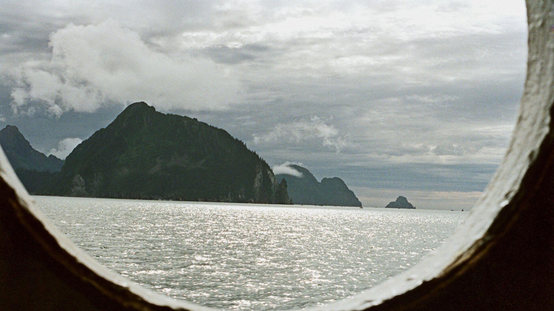 Вид на Аляску из корабельного окна - РИА Новости, 1920, 29.07.2021