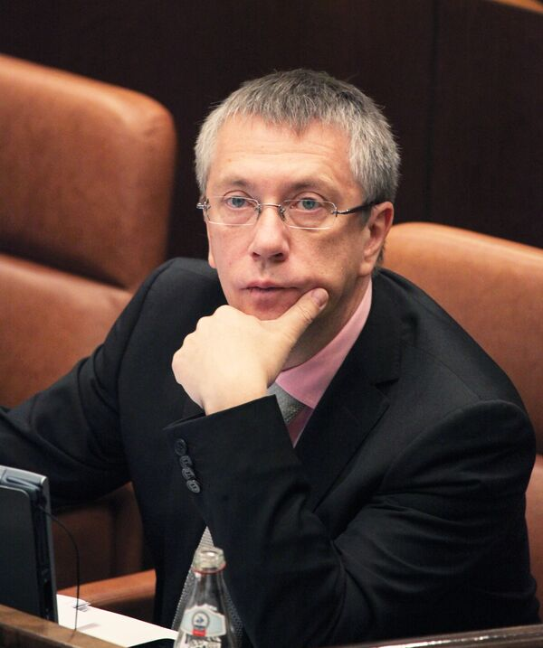 Андрей Вавилов на заседании Совета Федерации РФ. Архив