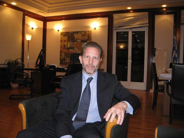 Министр культуры и туризма Греции Павлос Геруланос