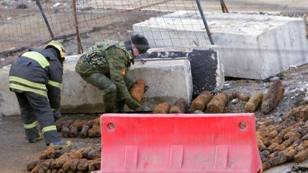 В Москве обнаружено 300 снарядов времен Великой Отечественной войны